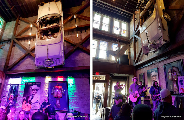 Show de música country no Nudie's Honky Tonk, Nashville