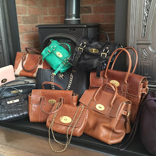 Mulberry Group Shot: Kelly, Bayswater Clutch, Hellier, Alexa, Cecily, Cara, Bayswater, Shimmy