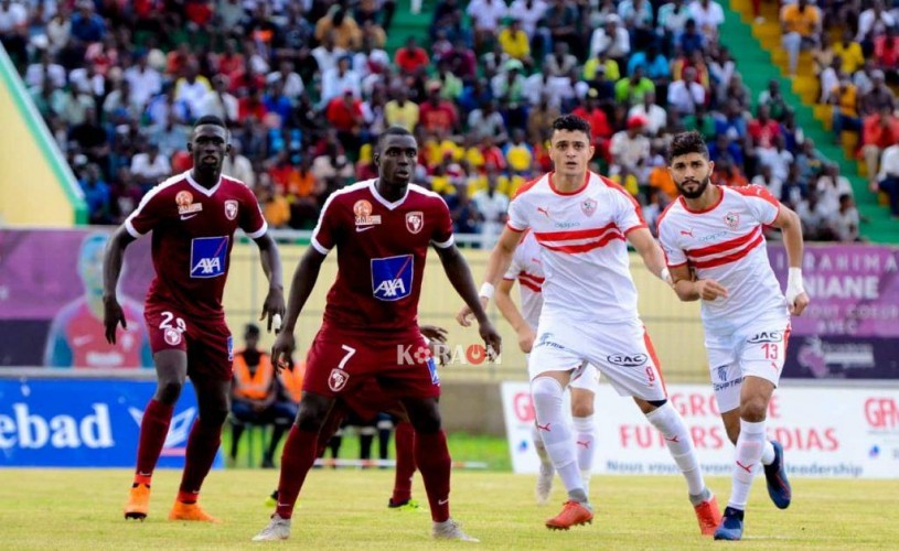 نتيجة مباراة الزمالك وجينيراسيون فوت اليوم الأحد 29/09/2019 دوري أبطال أفريقيا