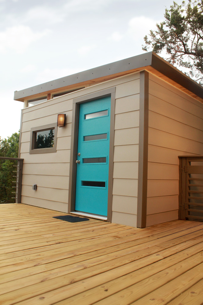 Tiny Home Designs: TINY HOUSE TOWN: 12' X 16' Modern Kwik Room
