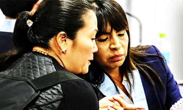Apelación contra prisión preventiva de Keiko Fujimori será el 15 de diciembre