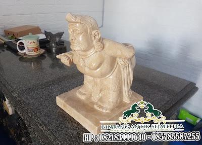 Patung Semar Marmer untuk Pajangan
