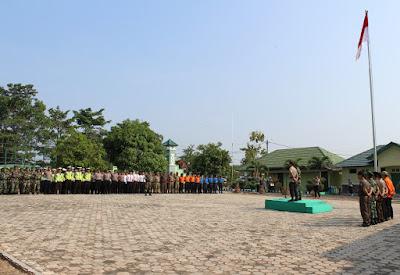 Jelang Pelantikan Presiden Terpilih, TNI Polri Gelar Apel Bersama di Kodim 0427 Way Kanan