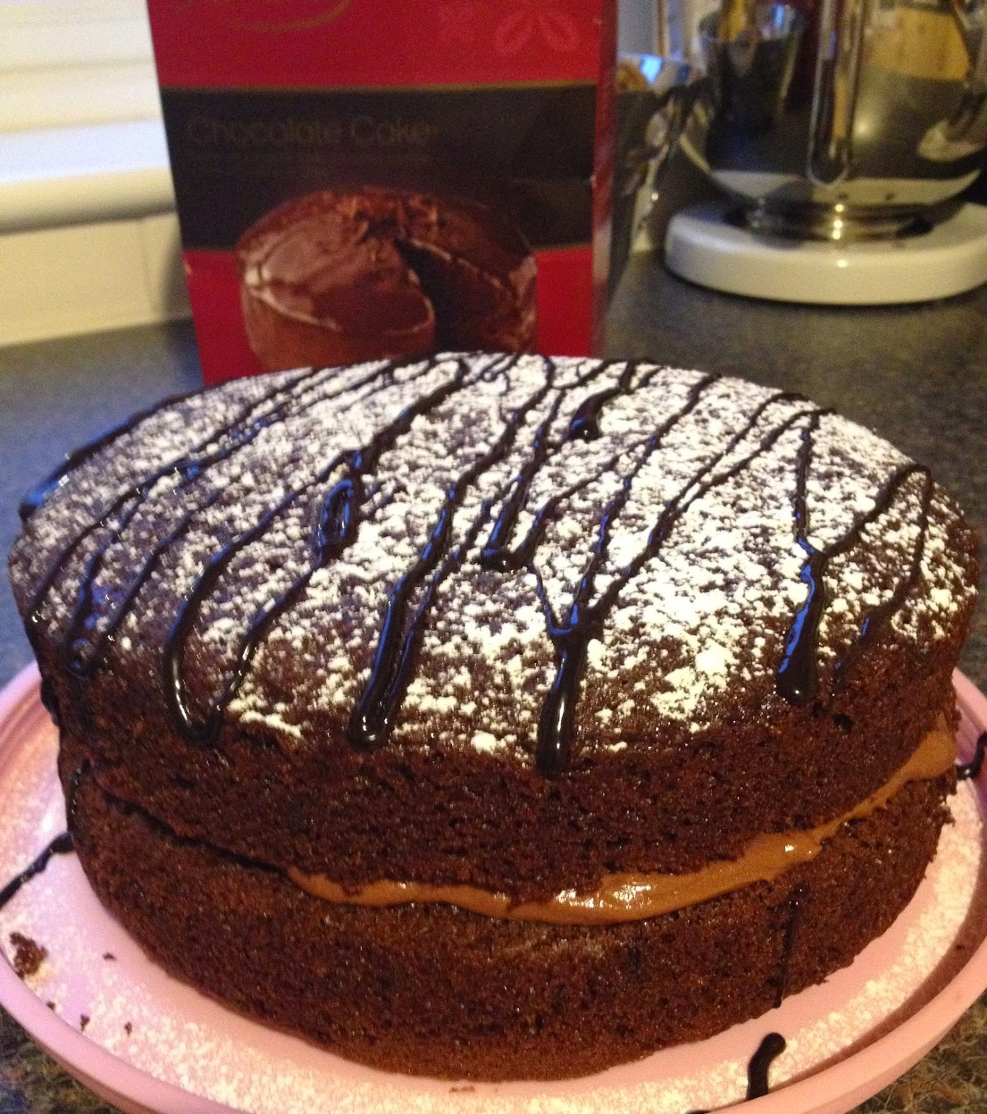 Chocolate Cake for Macmillan