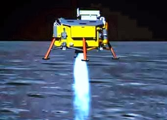 Chang'e - 3 pesawat china yang berhasil mendarat ke bulan