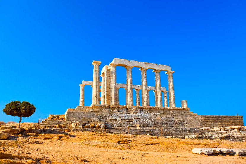 Temple of Poseidon Sounion 11