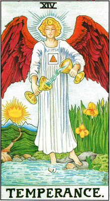Temperance Tarot Card Meaning- Major Arcana