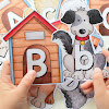 Dogs Breed Letters and Number Cards