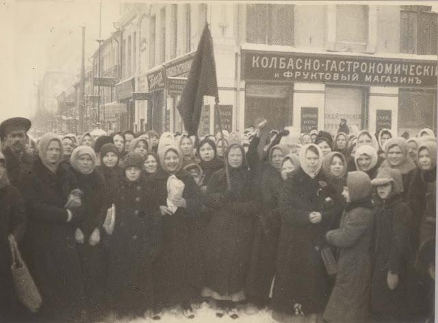 бабий бунт 23 февраля 1917 года