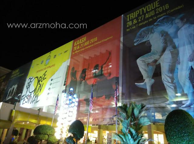 georgetown festival, sweetspot mobile app, kaash cultural dance, dewan sri pinang,