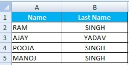How to use Excel Text to Columns Option use in Hindi
