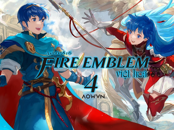 [SNES] Fire Emblem 3 & 4 Việt Hoá 99% | Game Android PC JAVA giả lập - Huyền Thoại Mộc Đế FE