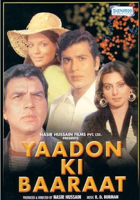 Yaadon Ki Baaraat 1973 Hindi 720p WEBRip 1.5GB