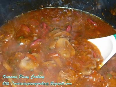 Pinoy Spaghetti Longganissa - Cooking Procedure