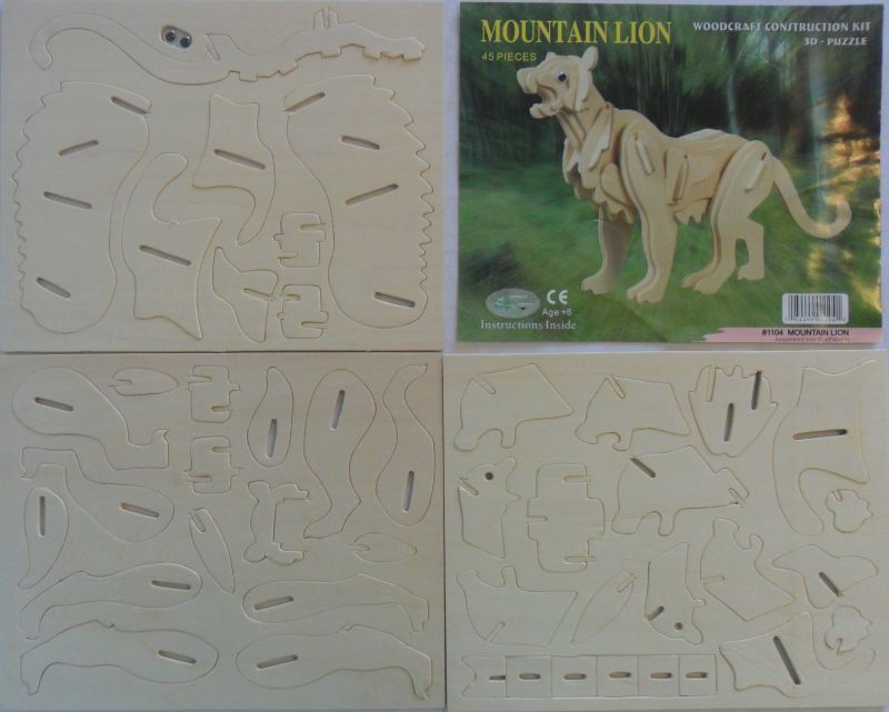 Look And Find Treasures 3d Puzzle Woodcraft Construction