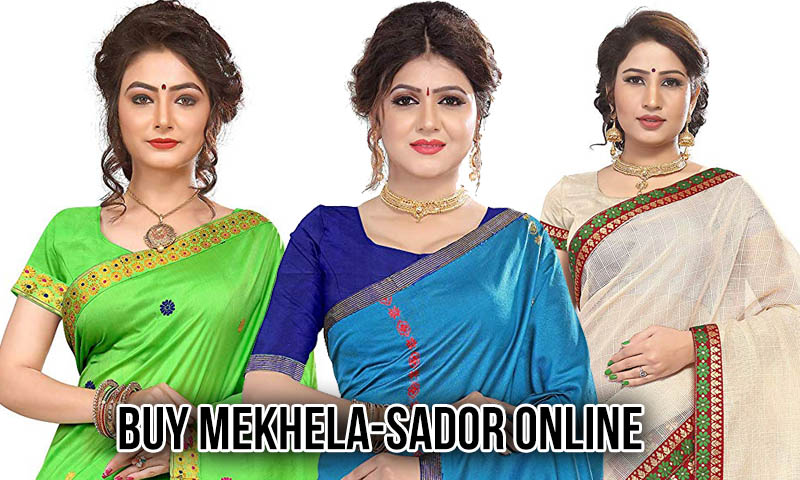 {Latest} Mekhela Sador & Mishing Mekhela Chador, Saree Best To Buy on Online Amazon