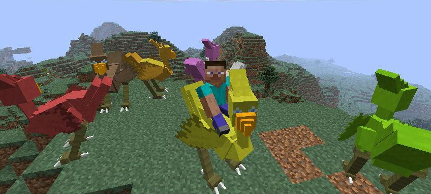 Minecraft Mods And Hacks: Minecraft Mod - Animal Bikes Mod
