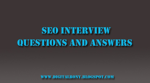 Top 40+ SEO Interview Questions and Answers in 2020