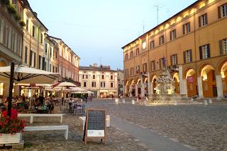 Pavimento piazza Cesena