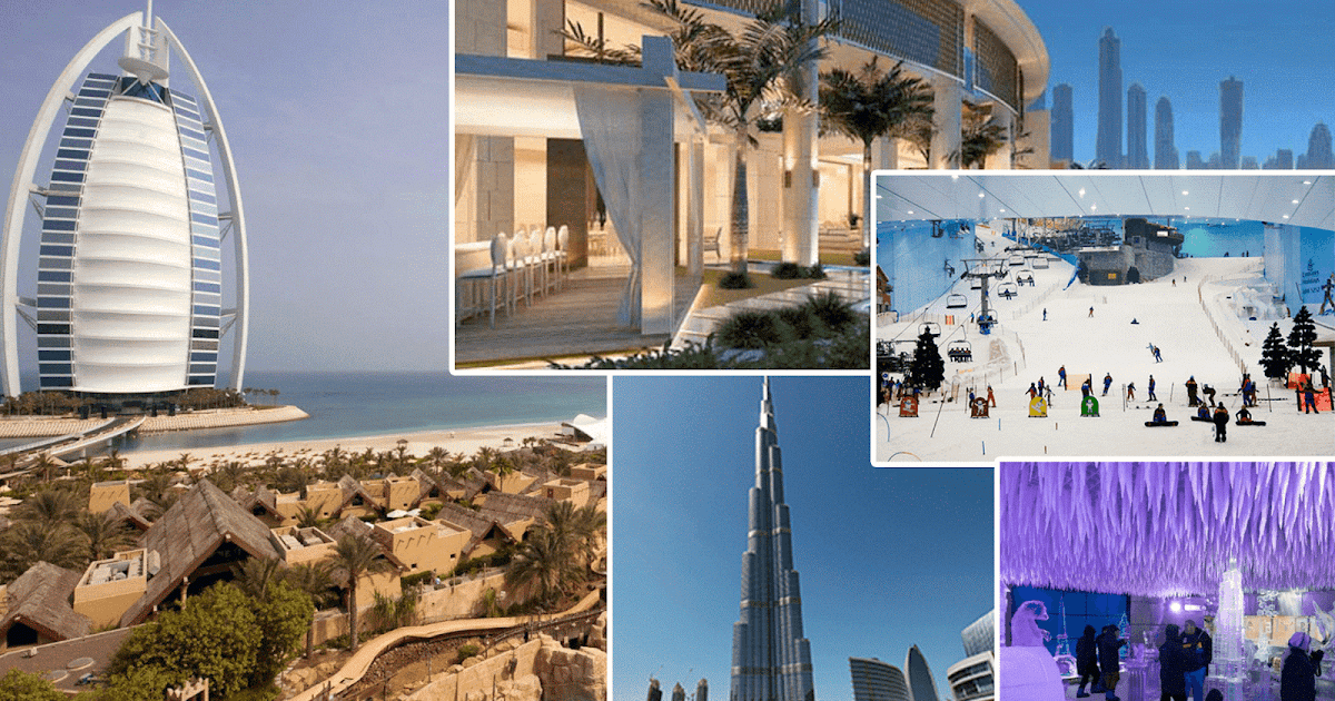 Top 5 Best Places To Visit In Dubai Top5ver