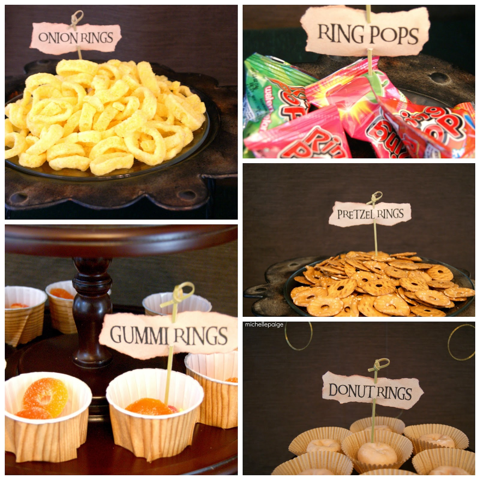 Lord Of The Rings Themed Snacks