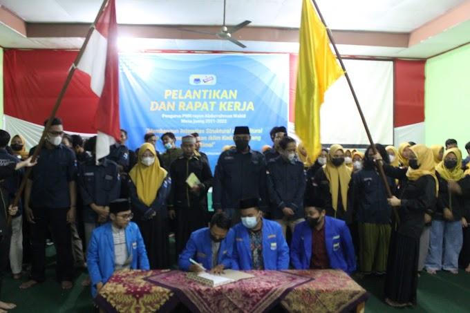 Pelantikan dan Rapat Kerja PMII Rayon Abdurrahman Wahid Masa Juang 2021-2022