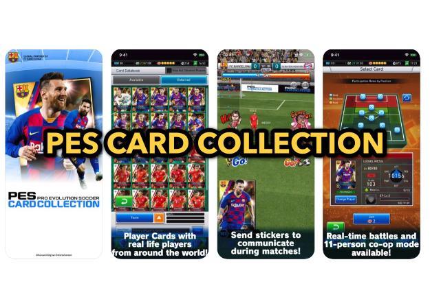 PES CARD COLLECTION - Δωρεάν μάνατζερ ποδοσφαίρου με κάρτες