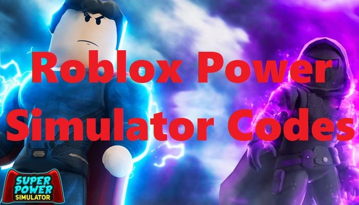 Roblox Power Simulator Codes Free 2020