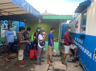 Menurun, Jumlah Penumpang dari Kali Adem ke Kepulauan Seribu