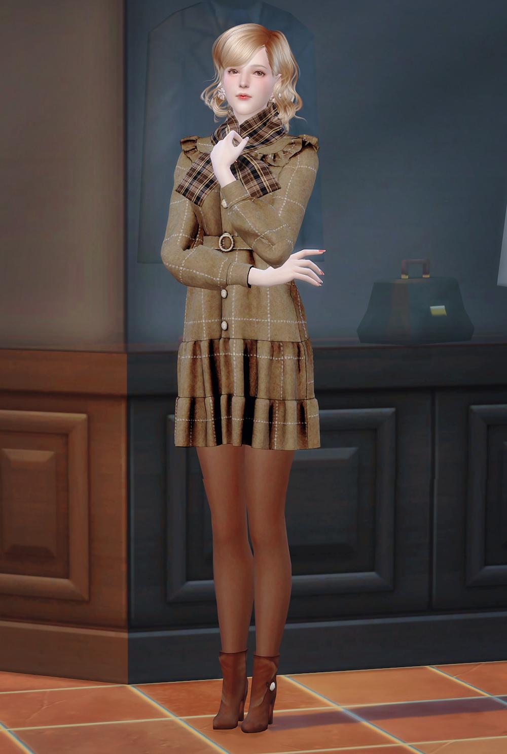 薇琪愛玩耍: The Sims 4 - 艾瑪 Emma(download)