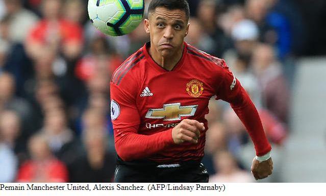 AS Roma Ingin Pinjam Alexis Sanchez dari Manchester United