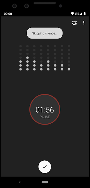 Smart Recorder Skipping Silence