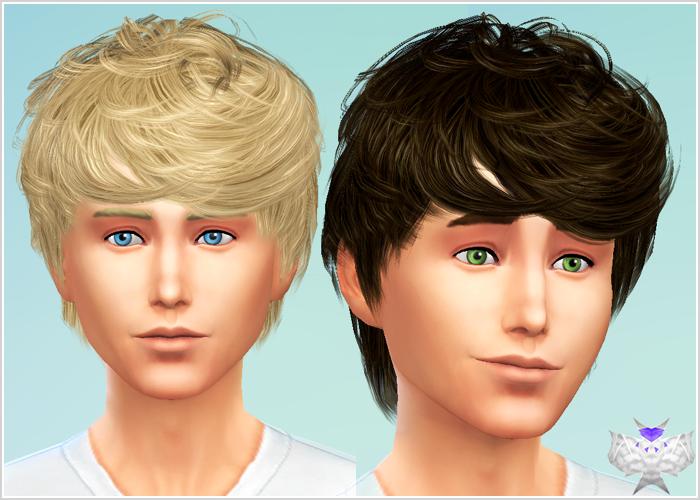 Hair Photos Boy Download: My Sims 4 Blog: David Sims Cazy 64 Conversion For Males