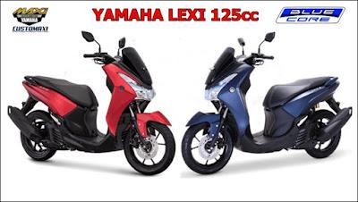 Yamaha Lexi 125cc, Skuter Matic Rasa Nmax