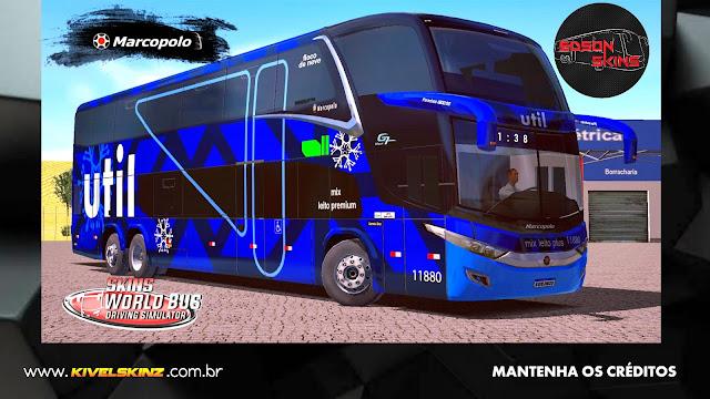 PARADISO G7 1800 DD 6X2 - VIAÇÃO FLOCOS DE NEVE