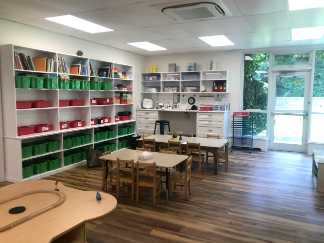 Newly Renovated Pre-K Classroom