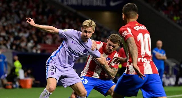 ملخص واهداف مباراة برشلونة واتلتيكو مدريد (2-0) الدوري الاسباني