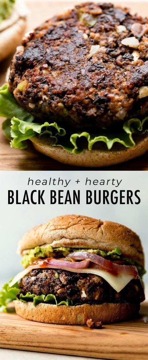 The Best Black Bean Burgers I've Ever Had
