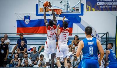 FIBA U18 Europe - Adem Bona - Tibet Görener