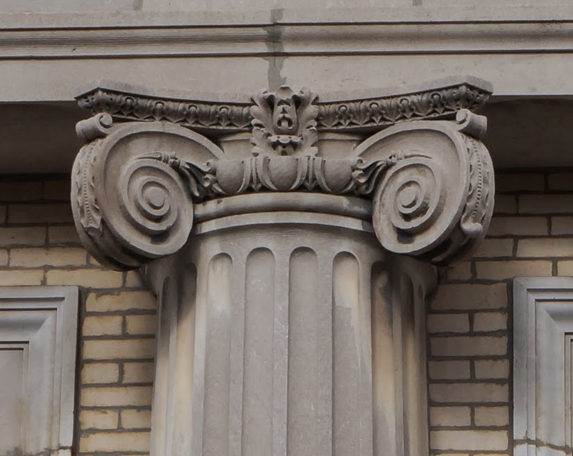 Bathhouse Ionic Capital Detail