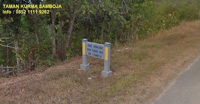 Taman Kurma Samboja Karya Jaya Kutai Kartanegara Kalimantan Timur