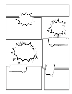 كتاب الرسم للأطفال comic book for kids