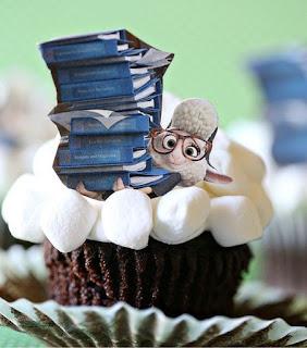Zootopia cupcakes