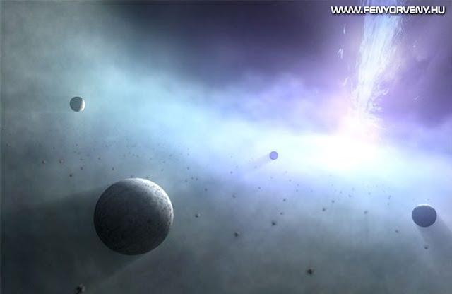 Bizarr bolygórendszerek fekete lyukak körül