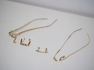 K18の金製品や金のメガネフレーム部品をお買い取り致します