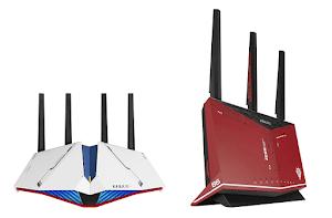 ASUS、ガンダムとのコラボWi-Fiルーターを発売!「RT-AX82U GUNDAM EDITION」と「RT-AX86U ZAKU II EDITION」。Wi-Fi 6対応機種