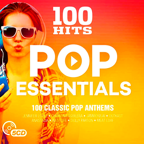 Download 100 Hits Pop Essentials 5CD (2017), Baixar 100 Hits Pop Essentials 5CD (2017)