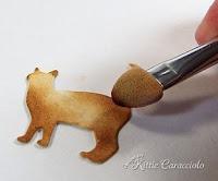Colourizing die cuts - Kittie Caracciolo