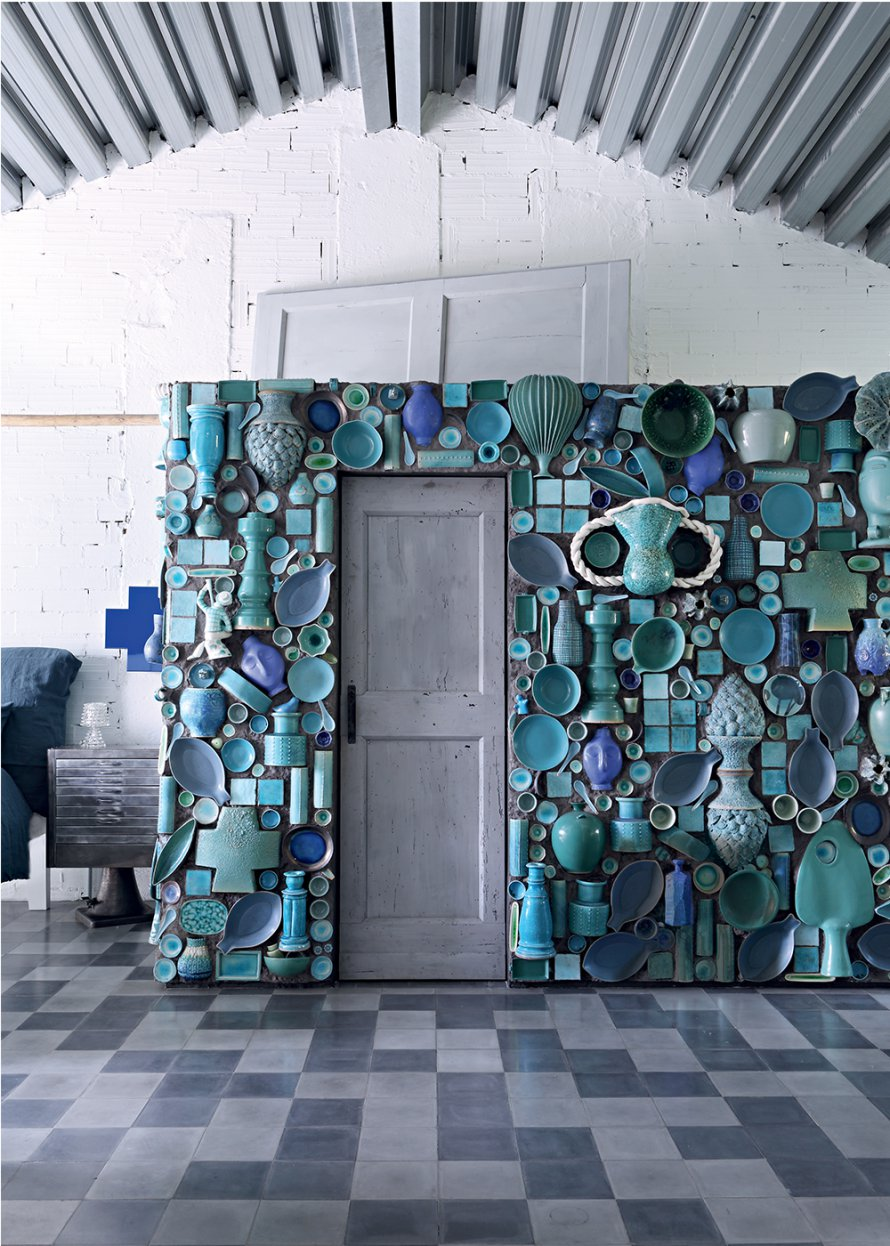 Paola Navone Eclectic Renovated Factory