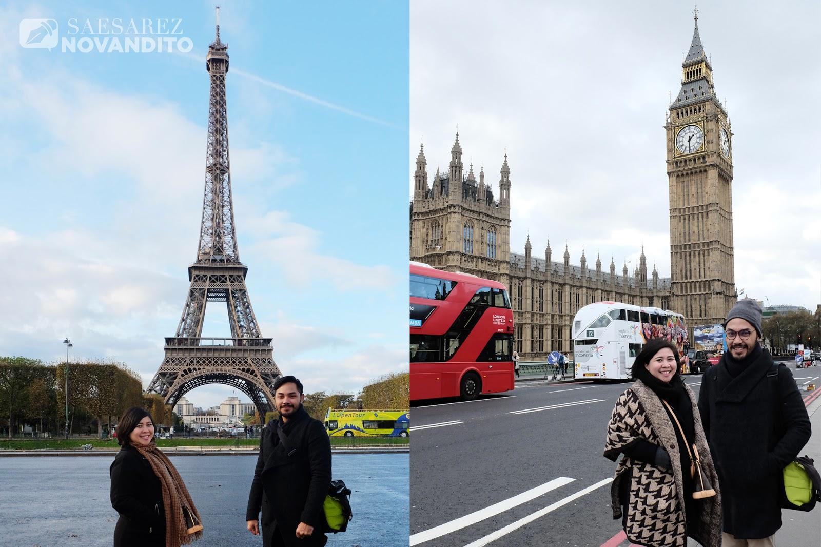 Persiapan Trip Ke London Paris Saesarez Novandito